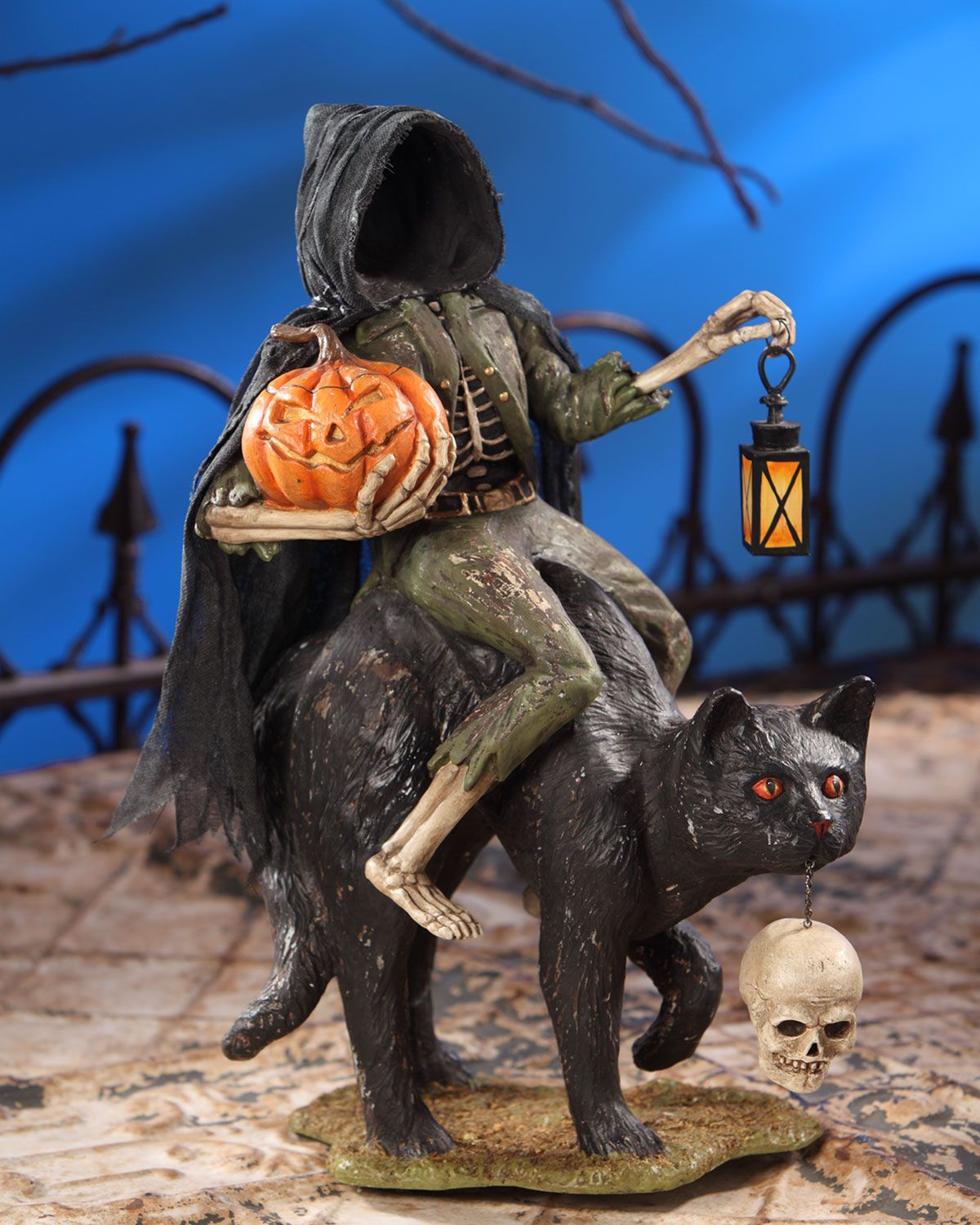 Bethany Lowe Headless Catman Halloween Decoration Halloween - Halloween House Decoration