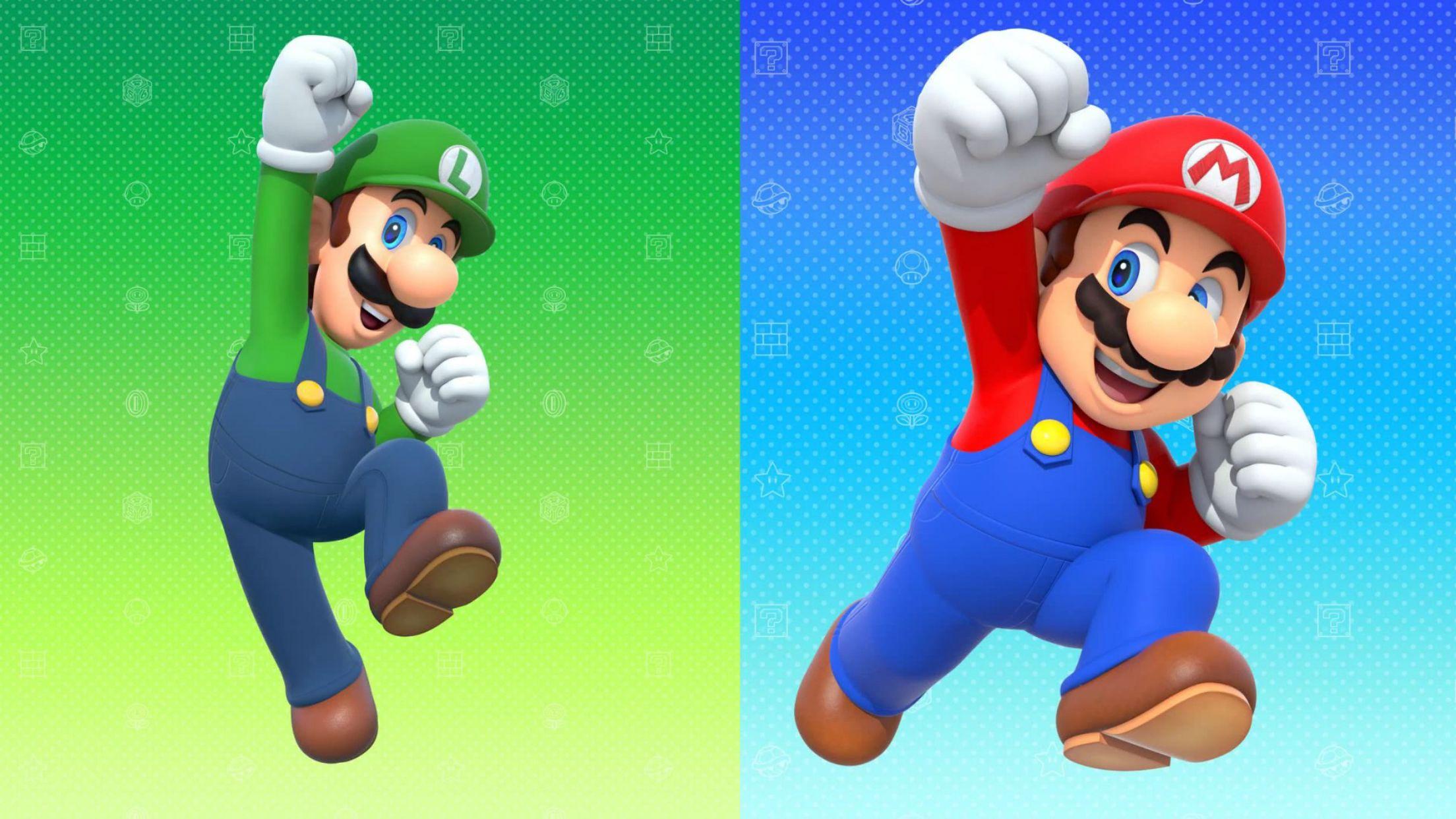 Mario and luigi super mario pinterest mario and - Luigi mario party ...