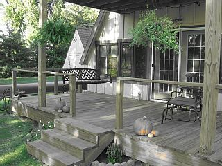 Kansas Cabin Rental: Relax At Our Cozy A Frame Cabin Right On A Kansas
