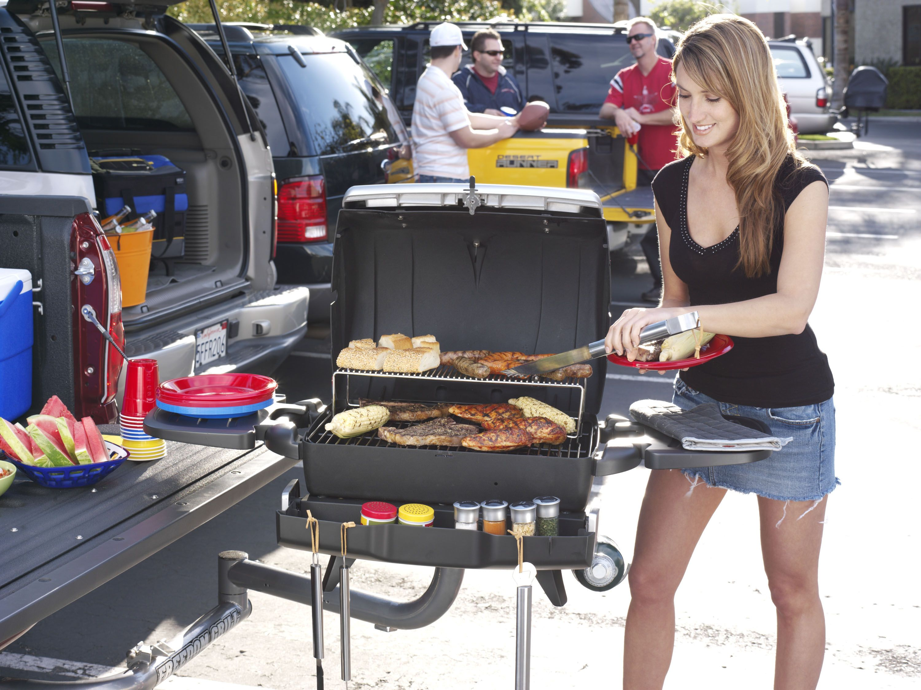 The perfect grill for the perfect tailgating experience