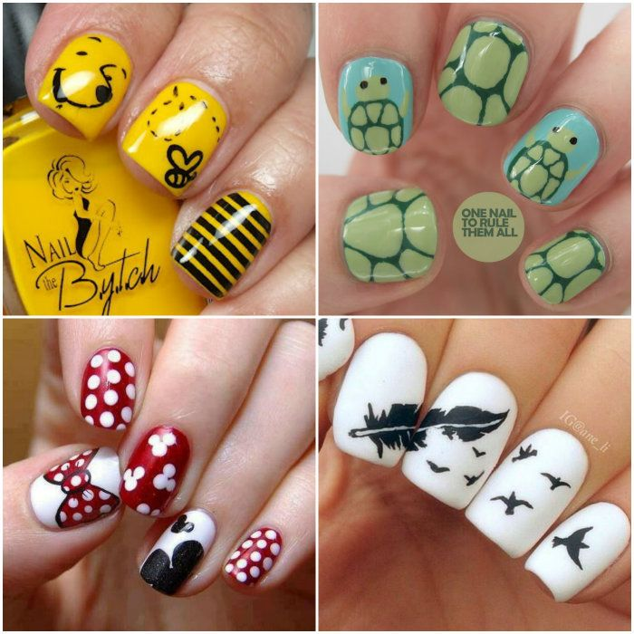 Amazing Nail Art- The Turtles For Aiyanna Lol