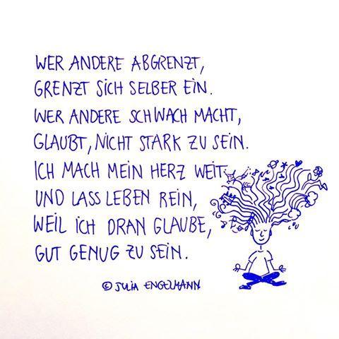 Julia engelmann quote quotes pinterest zitat for Minimalistisch leben mit familie