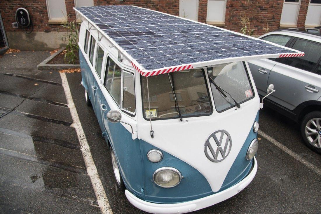 Vecna Cto Builds Solar Powered Volkswagen Bus And It Actually Works Volkswagen181 Volkswagen 181 Volkswagen Volkswagen Bus