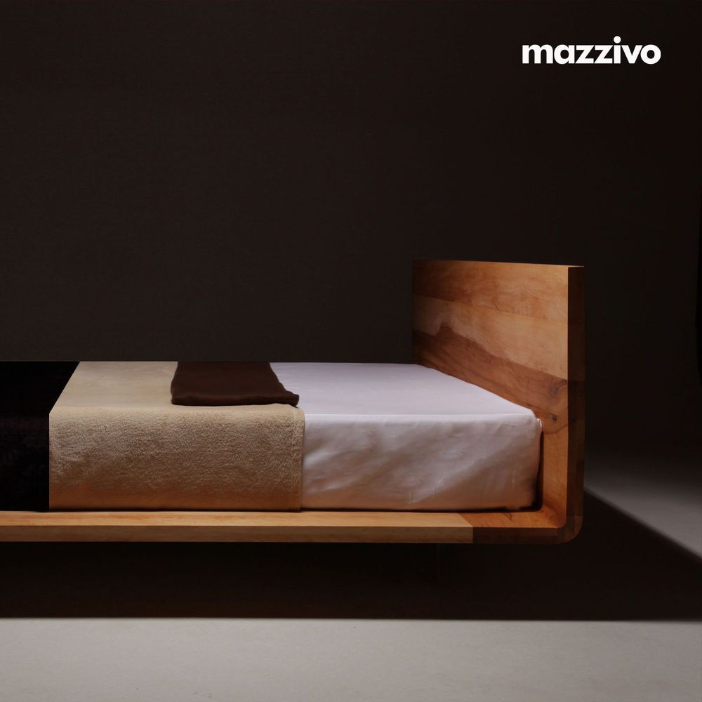 mazzivo designerbett mood l sale l 160x200cm massivholz. Black Bedroom Furniture Sets. Home Design Ideas