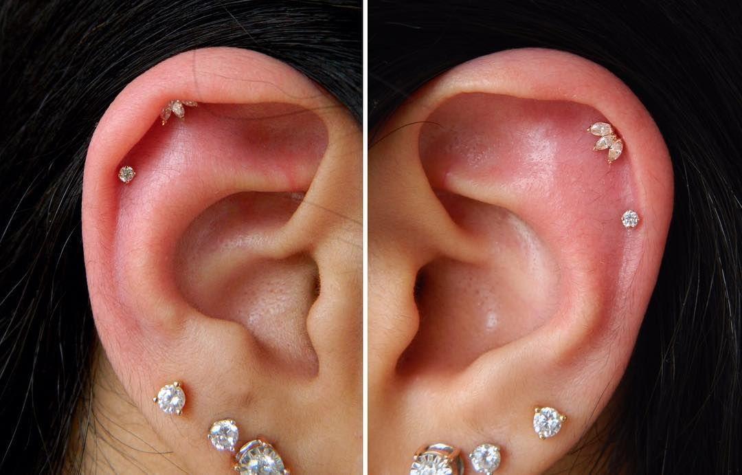 13++ Black hole body piercing jewelry ideas