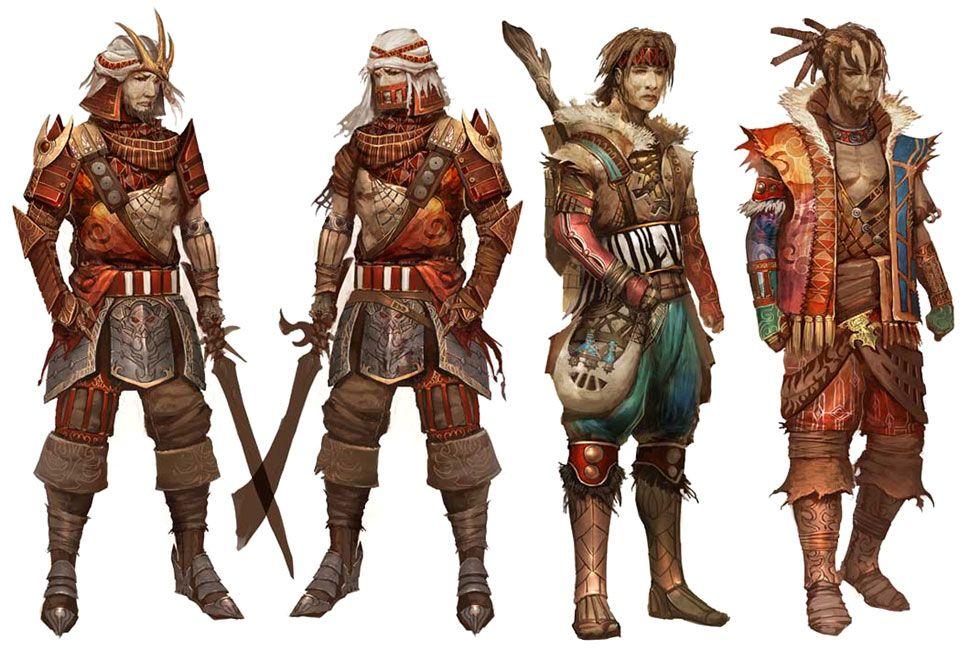 Character And Npc Design : Npc concepts character pinterest guild wars