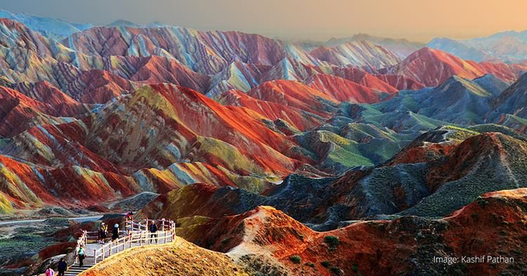The Rainbow Mountains Of China Need To Be Seen To Be ...