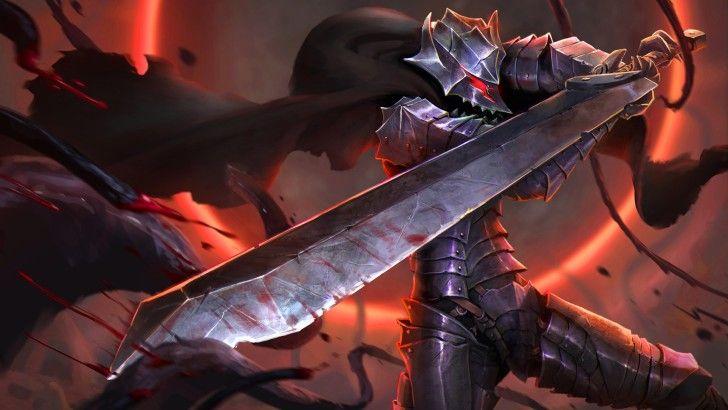 Guts Berserk Anime Berserker Armor Sword Wallpaper