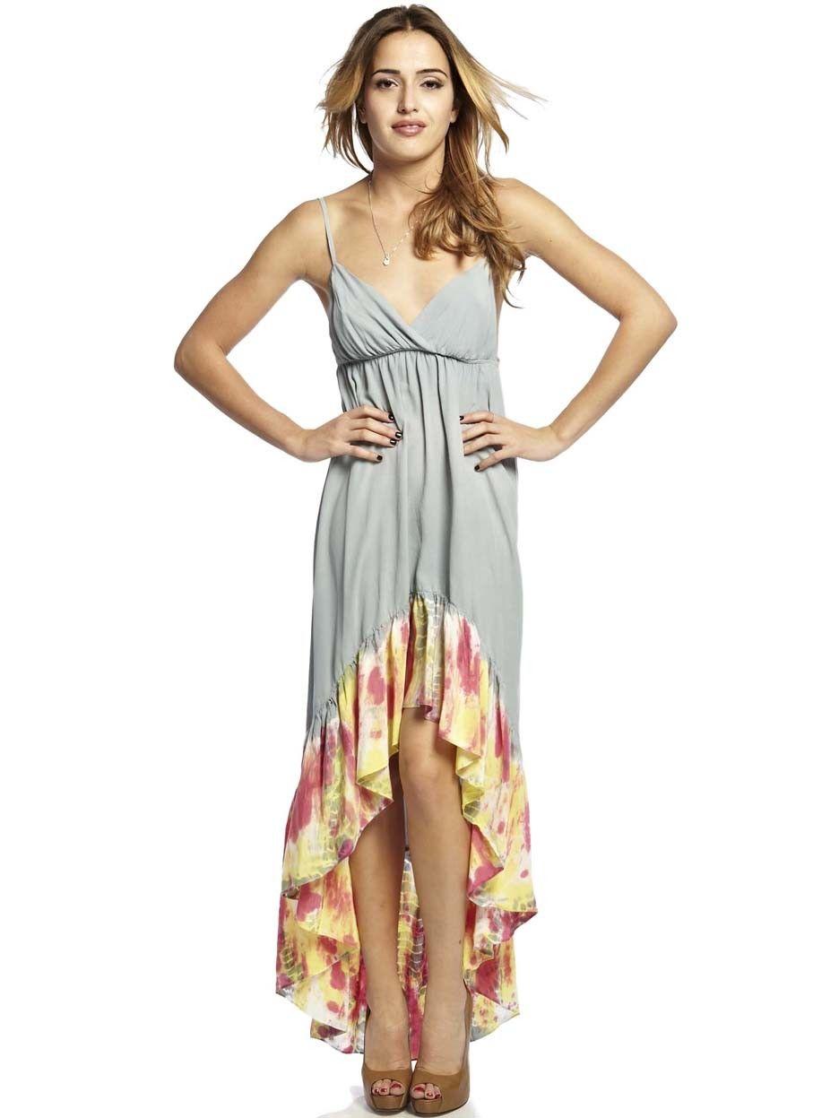 Hi low maxi dresses for women