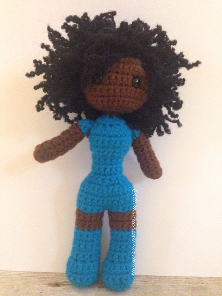 Pin By Mariah On Toys African American Dolls Crochet
