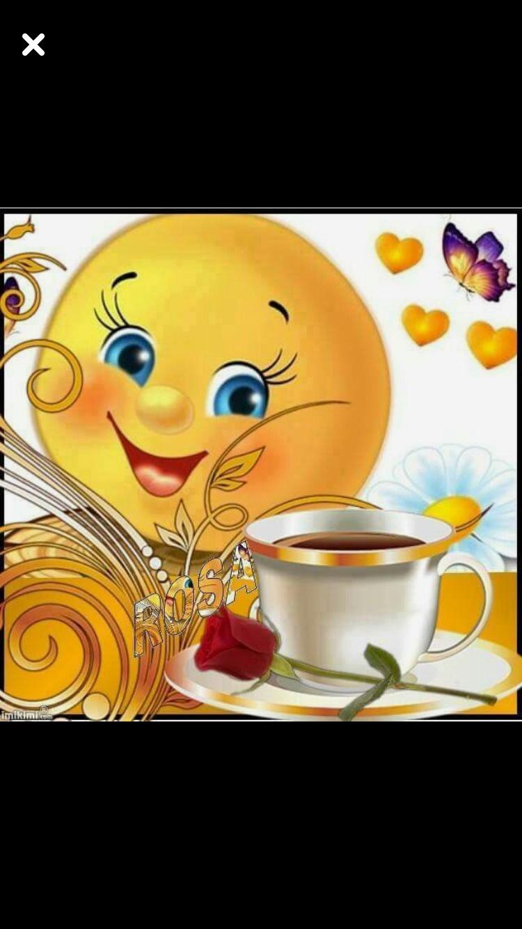 Kaffee Guten Morgen Lustig Smiley Geburtstag Guten