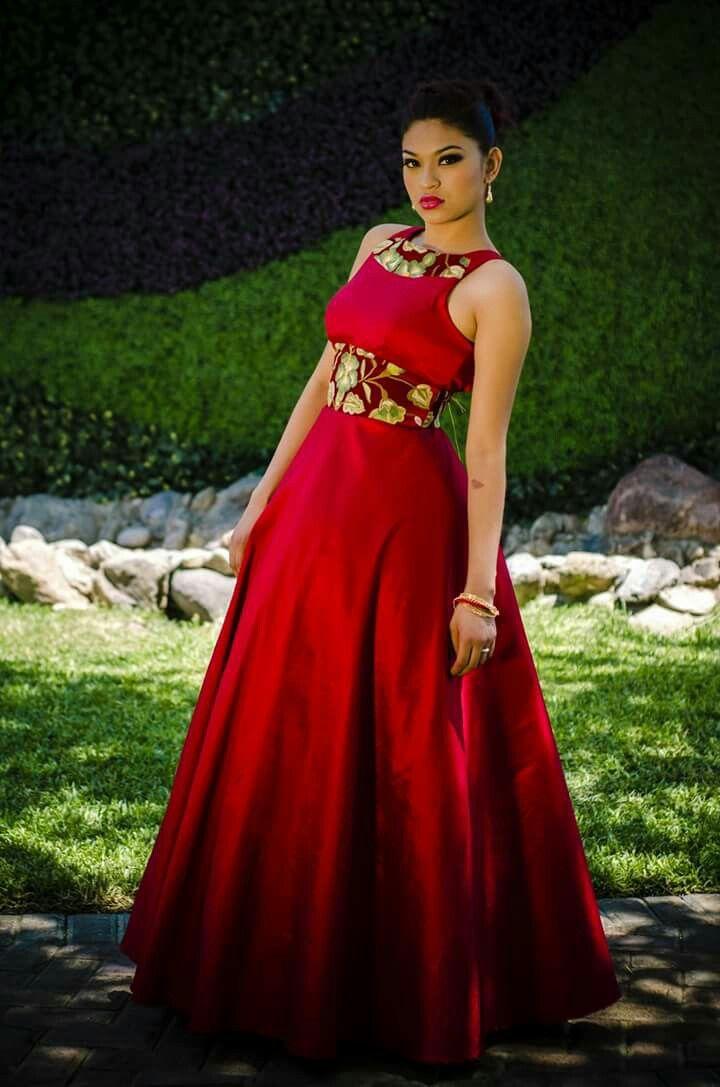 Pin De Rosa Santamaria En Mexican Dresses En 2019 Vestidos