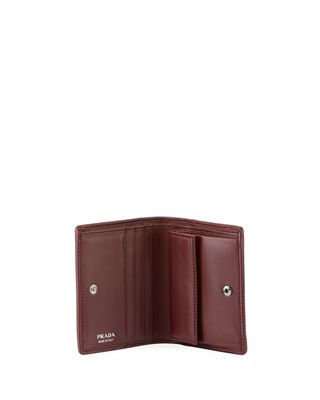 bf475d339471e9 Prada Diagramme French Wallet   Products   Leather wallet, Wallet ...