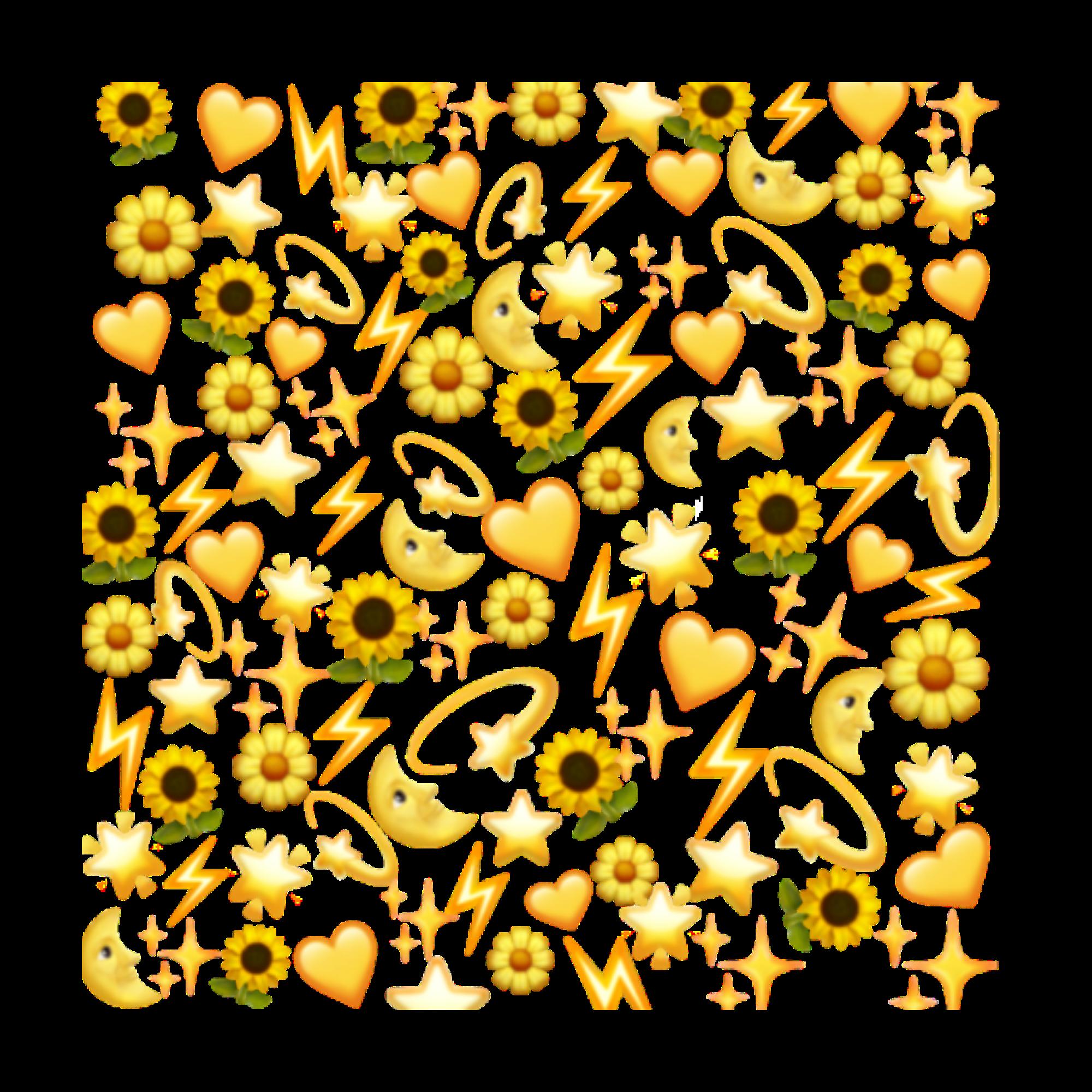 Flower Sunflowerbackground Emoji In 2020 Emoji Wallpaper Pretty Wallpapers Emoji Stickers