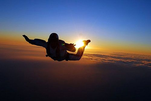 I will try skydiving this year as a reward to myself once i've achieved my goals