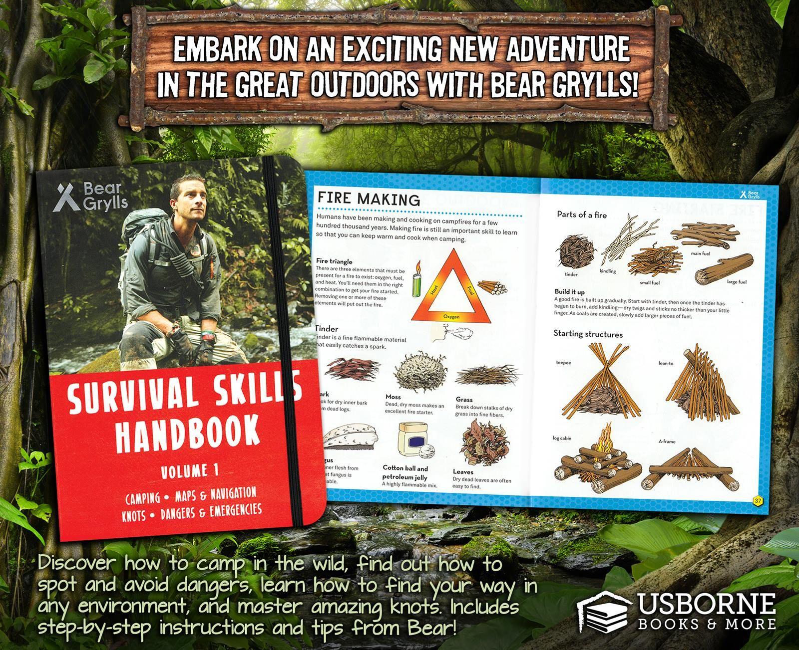 Dangers and Emergencies Survival Skills Handbook