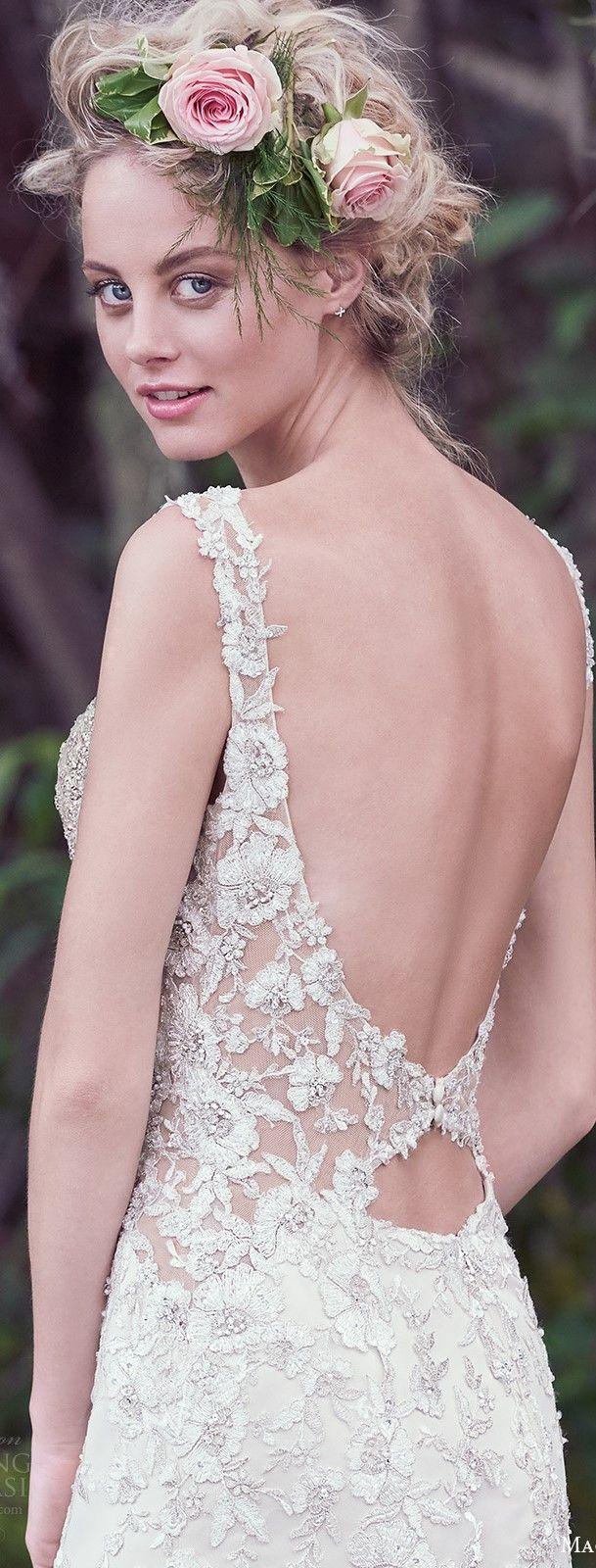 Atractivo Vestido De Novia Del Diseñador Maggie Sottero Inspiración ...