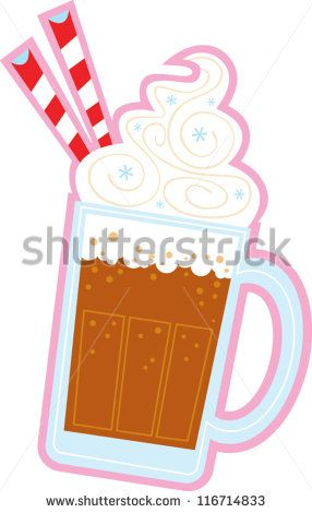 root beer float clip art black and white root beer float stock rh pinterest com root beer float clip art black and white Root Beer Float Graphic