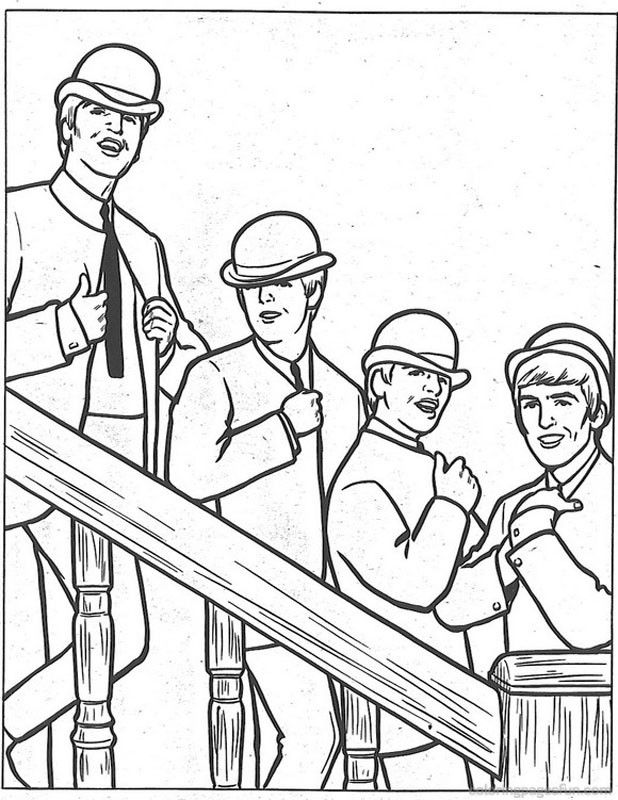 Beatles Coloring Pages 2 | Beatles Coloring Pages | Pinterest ...