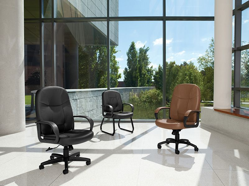 Management Leather Executive Chairs Now Available Blue Chairs Living Room Office Furniture Solutions Global Furniture