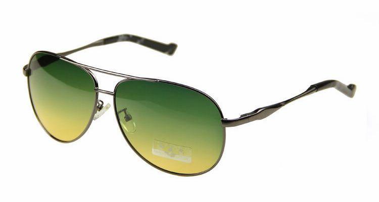 c80ac3aa3dc Night Vision Driving Polarized Glasses For Men Metal Frame Green Yellow Anti -Glare Lens Mens Day Night Aviator Sunglasses  17.52