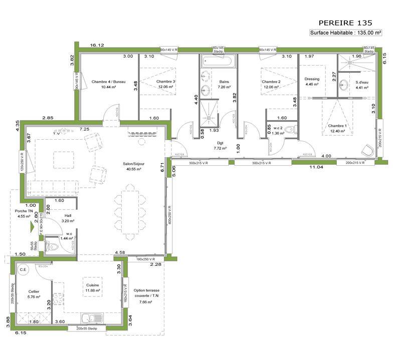 17 Best images about Plan Maison Plein Pied on Pinterest House - plan petite maison plain pied