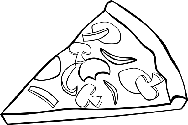 The Educational Tourist Pizza Coloring Page Food Coloring Pages Coloring Pages
