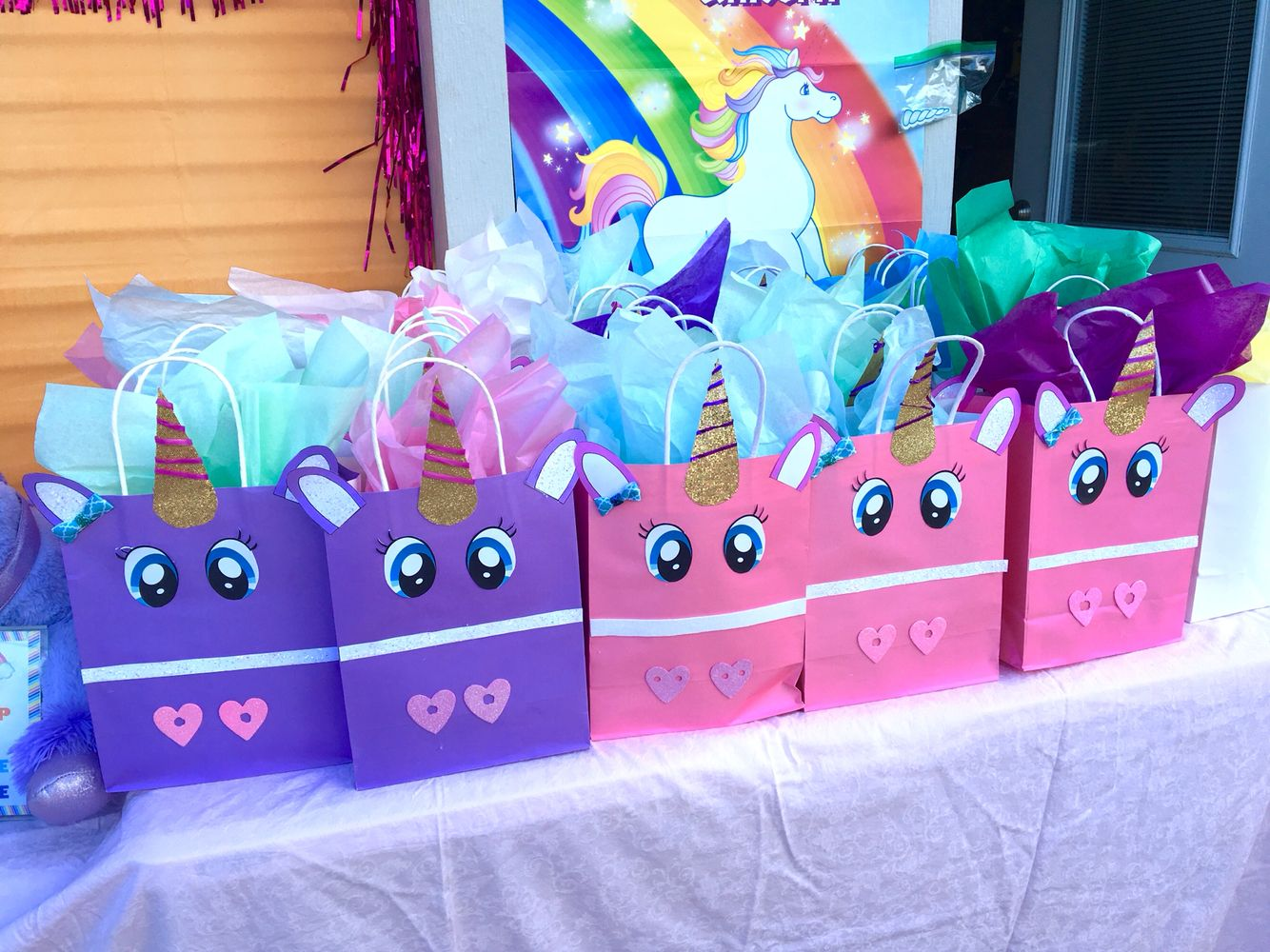 Camila S 5th Unicorn Birthday Goody Bags More