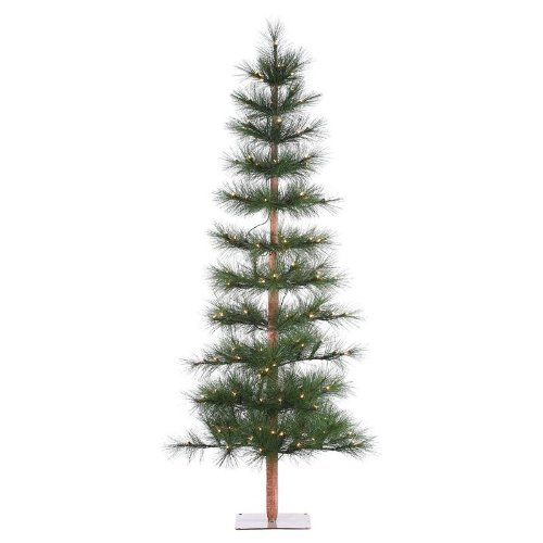 6 Green Hard Needle Washington Pine Christmas Tree With 105 Clear Lights With Stand You Can Get More Pine Christmas Tree Christmas Tree Cool Christmas Trees