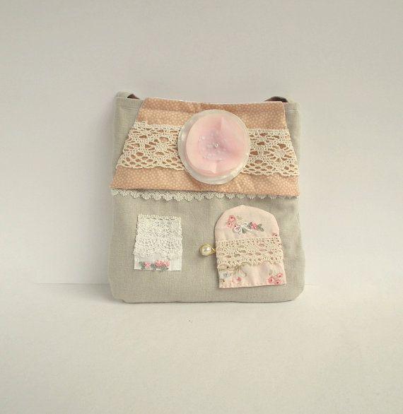 Toddler Girl purse cottage purse. Fairy house by CherryGardenDolls