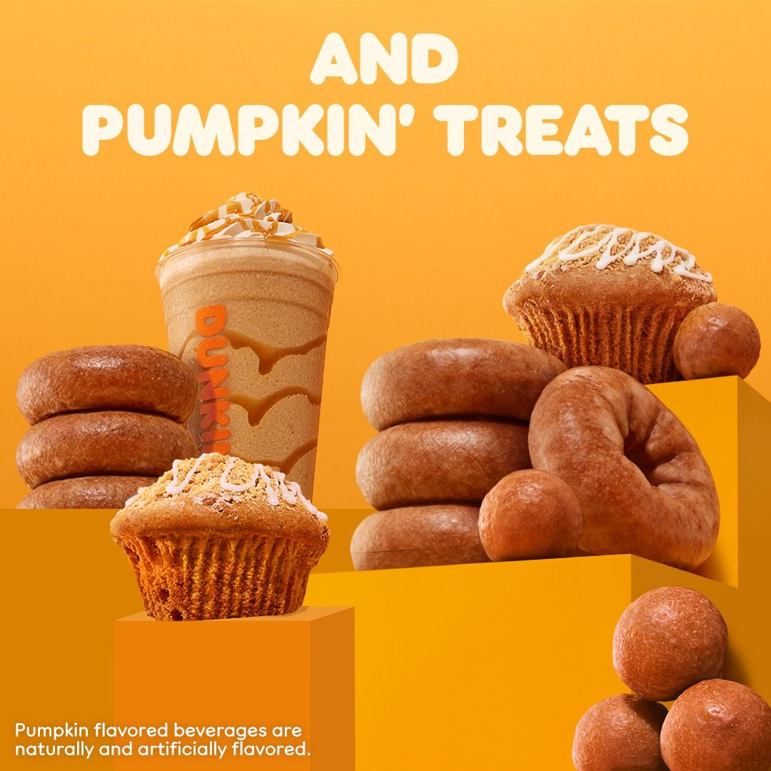Dunkin' Is Your Go-to Spot For All Things Pumpkin