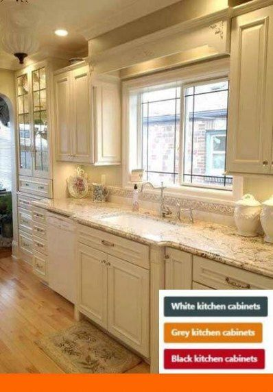 Pin By My Info On Kitchen Cabinets In 2020 Cream Kitchen