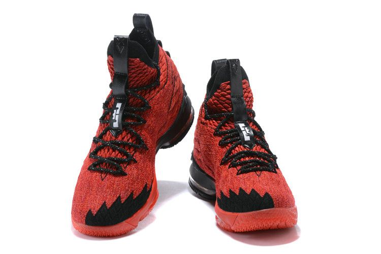 sneakers for cheap be783 121f3 2018 New Style Nike LeBron 15 Mens Original Basketball Shoes Sneakers  University Red Black