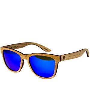 de4b29edbf WOLA estilo cuadradas gafas de sol en madera AERO mujer y hombre madera,  sunglasses UV400