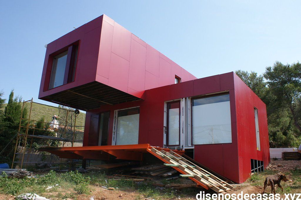 Casa de contenedores maritimos contenedores en 2019 casas casas contenedores y casas hechas - Casas hechas con contenedores maritimos ...