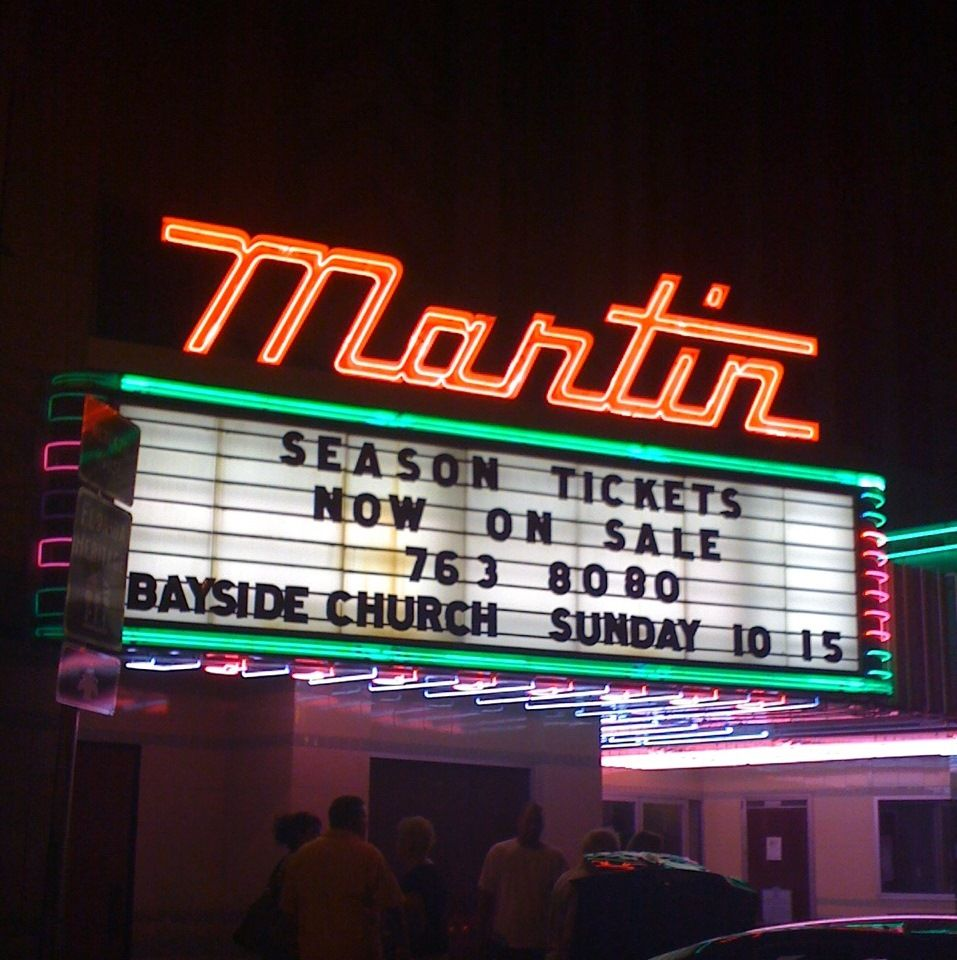 The Martin Theatre S Neon Marquee Is An Icon Of Downtown Panama City Marquee Hunter Movie Candy Theatre Panama City Panama