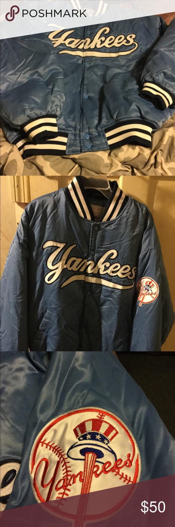Vintage New York Yankees Bomber Jacket Vintage New York Jackets New York Yankees [ 1740 x 580 Pixel ]