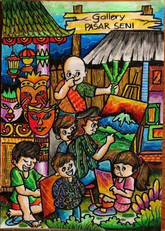 Drawing Painting Drawing Painting Ilustrasi Lukisan Sketsa