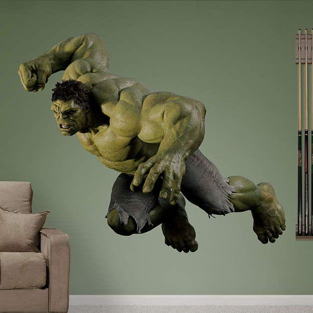 Hulk Avengers Live Action Photo Avengers Live Avengers Room Fathead