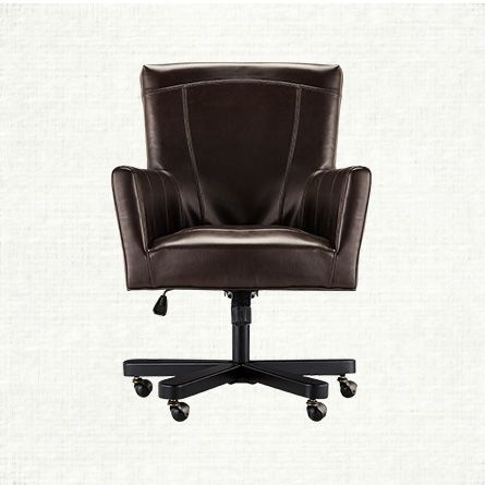 Shop Leather Desk Chairs At Arhaus Home Office Furniture Desk