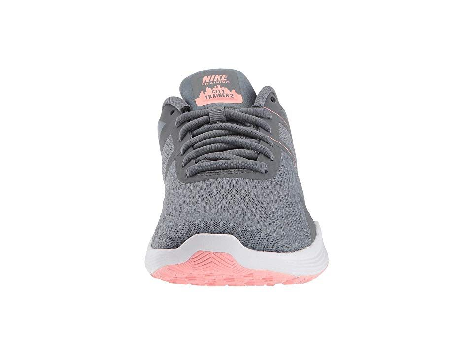 1c78f0403b2c61 Nike City Trainer 2 Women s Cross Training Shoes Cool Grey Oracle Pink Wolf  Grey