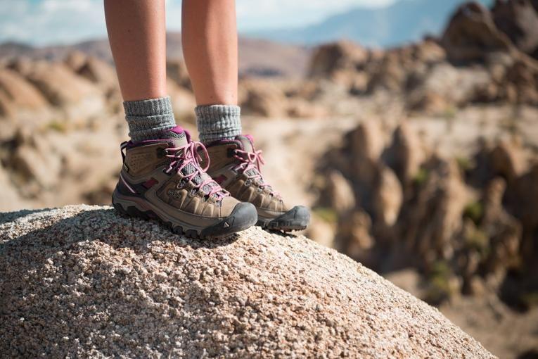 KEEN Targhee III Mid WP Hiking Boots - Women's | Hiking boots ...