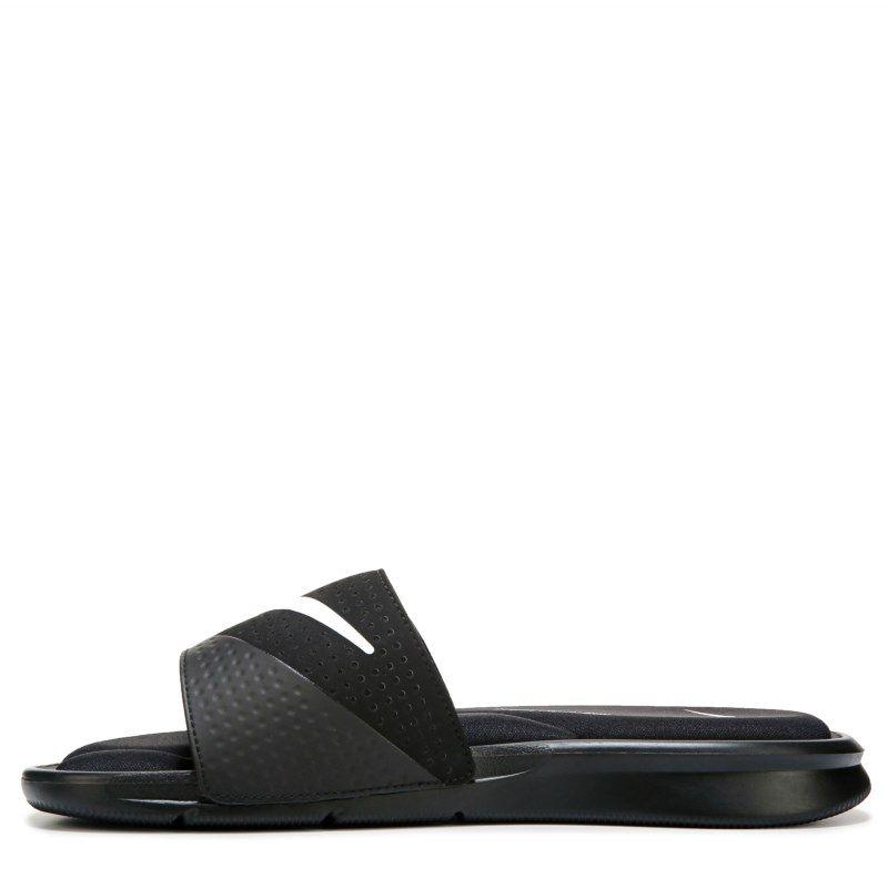 071dec88ebb2 Nike Men s Ultra Comfort Slide Sandals (Black White)