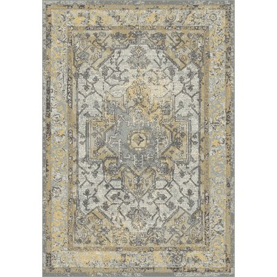 Ophelia Co Whobrey Gray Gold Area Rug Area Rugs Ophelia Co Dark Gray Area Rug