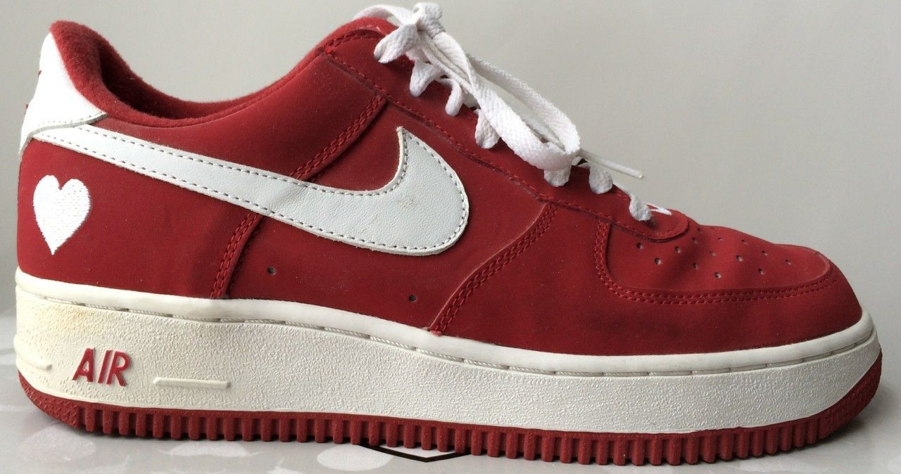Nike Air Force 1 Low Valentine S Day 2003 Kicks Pinterest