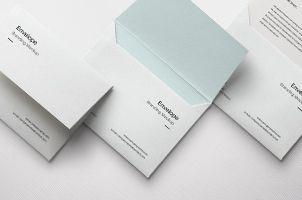 Envelope Letter Psd Mockup Vol  Templates  Bundles  Packaging