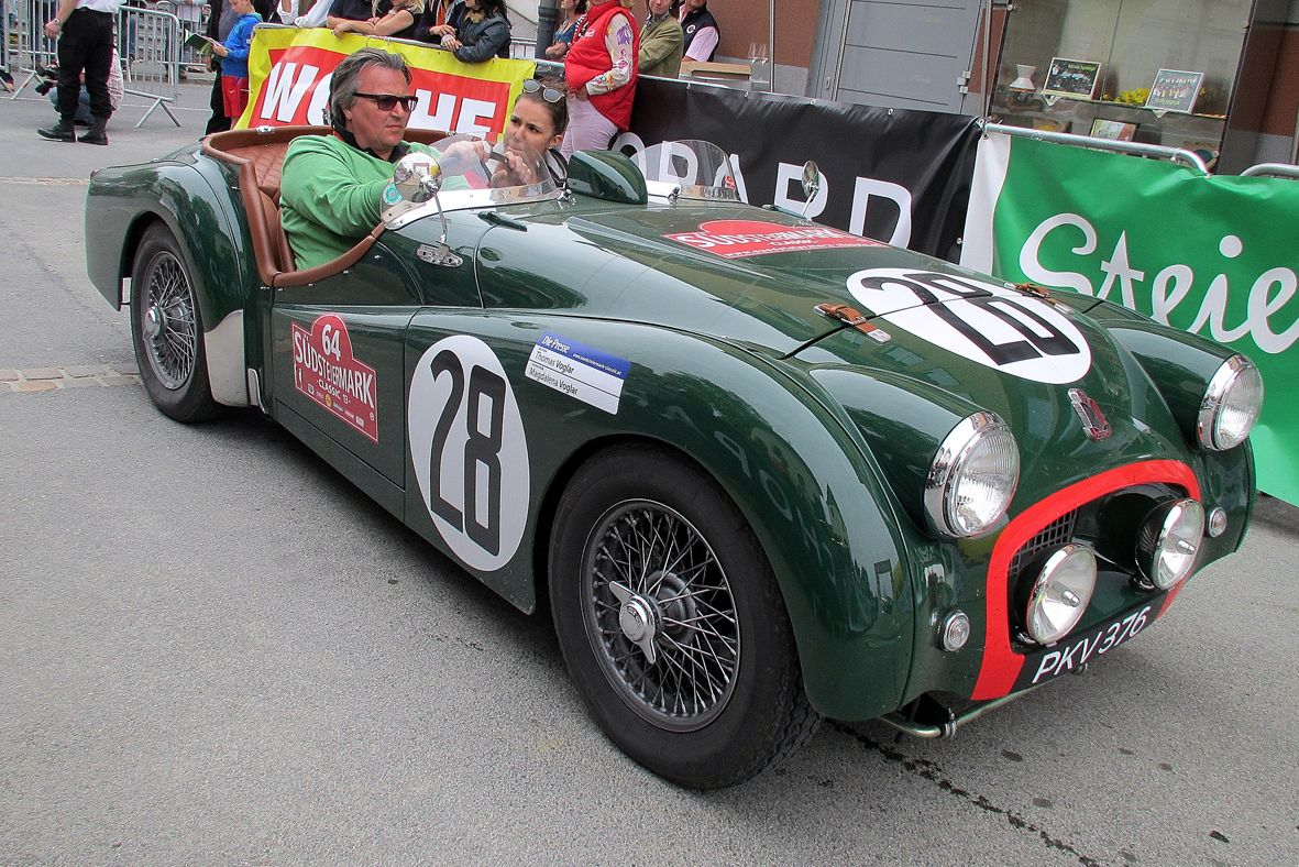 Identity of 1955 Triumph TR2 Le Mans Works Car Confirmed | Le mans ...