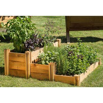 Costco Com Gronomics Multi Level Rustic Raised Garden Bed 400 x 300