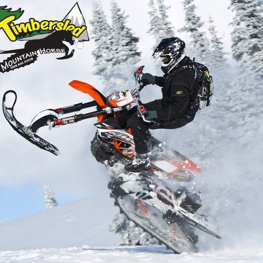 Timbersled Mountain Horse Snow Bike Snowbike