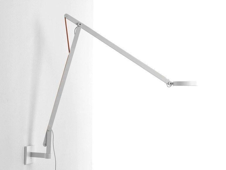 Plafoniere Da Parete A Led : Lampada da parete a led in alluminio string w1 by rotaliana design d